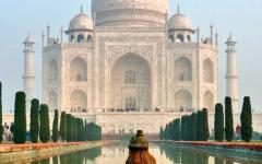 India Tour of Agra's Taj Majal
