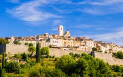 A view of Saint-Paul-de-Vence.