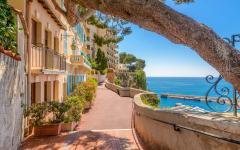A path in Monaco.