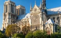 Notre-Dame Cathedral in Paris.