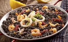 Traditional Catalan food.