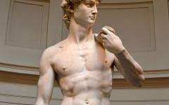 Statue of David by Michelangelo.