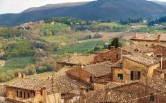 Montepulciano is a medieval and Renaissance town in Tuscany.