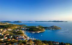 The Kornati islands in Croatia.