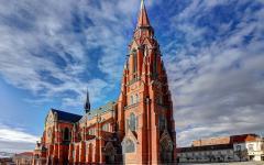 Osijek church of St Peter and St Paul in Croatia.