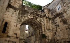 Diocletian's Palace in Split, Croatia.