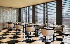 Dining at the Armani Hotel in Milan. Credit: Courtesy Armani Hotel Milano