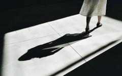 A woman exploring Fondazione Prada in Milan. Credit: Martino Pietropoli