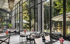 Dining at Palazzo Parigi in Milan. Credit: Courtesy Palazzo Parigi