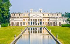 Villa Pisani National Museum in Stra, Italy