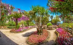The gorgeous Ravello Gardens on the Amalfi Coast, Italy