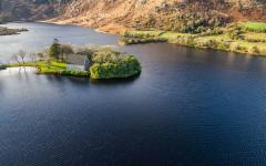 Gougane Barra National Park in County Cork, Ireland.