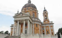 The Basilica of Superga in Turin, Italy