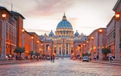 Italy - Rome - Saint - Peter - Basilica - Vatican