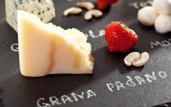 Italian Cheese Board.