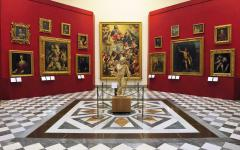 Room 18 is called The Tribune and is one of the most important rooms in the Uffizi Gallery, Florence.