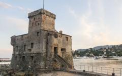 Rapallo Castle in Italy