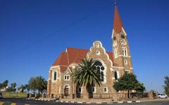 The Christ Church, Windhoek in Namibia, Africa