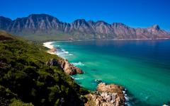 Capetown coastline with pristine ocean water | South Africa