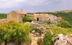 Old village in Coratia.