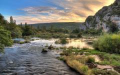 Roski Slap and the River Krka.