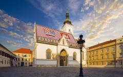 St Mark's church in Zagreb, Croatia.