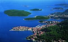 Korcula green islands.