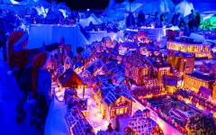 World's largest gingerbread town in Bergen, Norway
