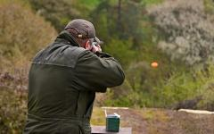 Clay pigeon sporting