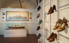 A display at the Ferragamo Museum in Florence. Credit: Courtesy Museo Salvatore Ferragamo