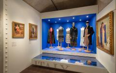 "The ""Italian Women"" display at the Ferragamo Museum in Florence. Credit: Museo Salvatore Ferragamo"