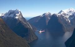 Unforgettable scenic flight, Milford Sound.