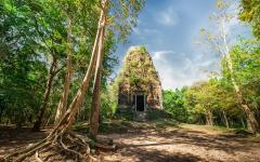 Sambor Prei Kuk temple ruins, Kampong Thom