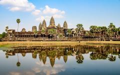 Angkor Wat in Siem Reap.