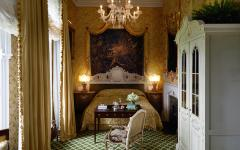 A guest room at Ashford Castle. Credit: Ashford Castle