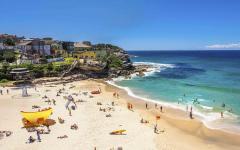 Tamarama Beach in Sydney, Australia.
