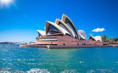 australia sydney sydney opera house on a sunny day