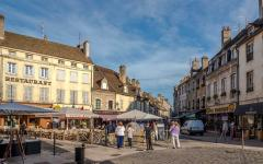Beaune town is the wine capital of Burgundy in eastern France