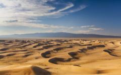 Gobi desert dunes, Mongolia.