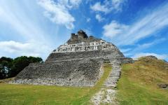 Mayan ruins at Xunantunich in San Ignacio Belize