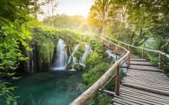 Plitvice national park in Croatia.