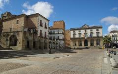 Plaza de Santa Maria, Cáceres