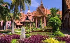 National Museum of Cambodia in Phnom Penh.