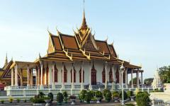 Royal Palace in Phnom Phen, Cambodia.