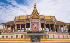 Royal Palace in Phnom Penh.