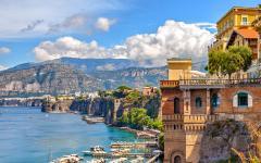 Coast of Sorrento, Italy.