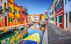 A view of Burano.