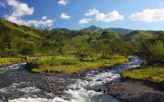 Landscape of Monteverde, Costa Rica