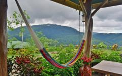 Hammock relaxation at Santa Juana. Photo: Courtesy of Santa Juana.
