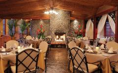 Vista Poas restaurant at the Peace Lodge. Photo: Courtesy Peace Lodge